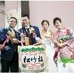 ウェディング&パーティ グレースバリ新宿店:樽酒でお祝いも!