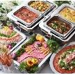 ウェディング&パーティ グレースバリ新宿店:春・夏・秋・冬季節毎に変わる料理コース