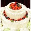 ウェディング&パーティ グレースバリ新宿店:女性の憧れのウエディングケーキ
