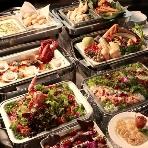 ウェディング&パーティー グレースバリ横浜:当店シェフが愛情を手間暇に替えて料理をお作りいたします。珠玉の料理の数々をお楽しみ下さい。