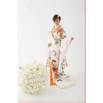 和装、白無垢、色打掛、黒引:SPOSA BLANCA●大阪 丸福衣裳店
