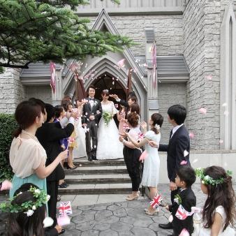 仙台セント・ジョージ教会:【家族での挙式&会食】2~40名様まで!お得すぎる少人数W相談