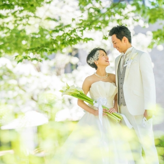 空の庭:【幸せの瞬間をカタチにしよう!】フォトウエディングフェア