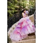 桂由美フランチャイズ ブライダルハウス:【TheHany】 ふわふわプリンセス気分♪Sophieソフィー(ピンク)