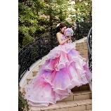 桂由美フランチャイズブライダルハウス茨城:【TheHany】 ふわふわプリンセス気分♪Sophieソフィー(ピンク)