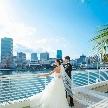 神戸メリケンパークオリエンタルホテル:【挙式料無料&ドレス20万円】神戸の海と空に祝福される挙式体験