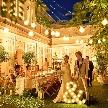 赤坂 アプローズスクエア迎賓館:【ナイトフェア限定】イルミネーション×キャンドルガーデン体験