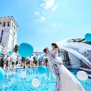 アートグレイス・ポートサイドヴィラ:【海外婚を諦めた花嫁に】天高12Mの天空チャペル×リゾート体験