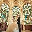 セントグレース大聖堂:【初めての方にも】★大聖堂まるごと貸切花嫁体験★豪華試食付