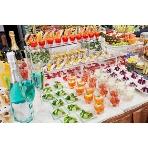 サンシャインクルーズ・クルーズ:当店の野菜ソムリエシェフが厳選した食材と調整法でお客様の思い出に残るパーティーを色彩豊かに演出します。「カラフルデライトコース」