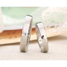 ブライダルリング工房 アートゆう:アートゆう《ふたりで作ろう!》つち目ハンドメイド結婚指輪【燦~KIRARA~】