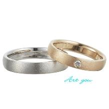 ブライダルリング工房 アートゆう:アートゆうオリジナル☆上質な着け心地リング☆鍛造結婚指輪【秀美~SHUMI~】