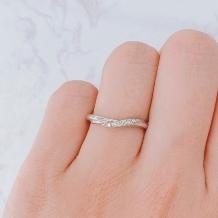 ブライダルリング工房 アートゆう:アートゆうオリジナル☆上質な着け心地リング☆婚約結婚指輪【優彩~YUUSAI~】