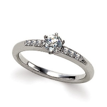 ブライダルリング工房 アートゆう:アートゆうオリジナル婚約指輪【愛輝】~AIKI~