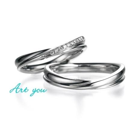 ブライダルリング工房 アートゆう:アートゆうオリジナル☆上質な着け心地リング☆結婚指輪【優星~YUSEI~】