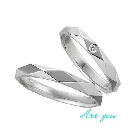 ブライダルリング工房 アートゆう:☆幸せを呼ぶリング☆上質な着け心地結婚指輪【福輪~FUKUWA~】