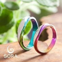 SORA(ソラ)の婚約指輪&結婚指輪