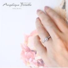 アンジェリック フォセッテ ブライダル:星モチーフでお探しの方必見☆婚約指輪もお洒落に使いたい方に人気!
