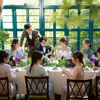 ザ・グリーンカーメル(The Green Carmel):【6~40名の少人数に◎】挙式と会食会◇おしゃれウェディング