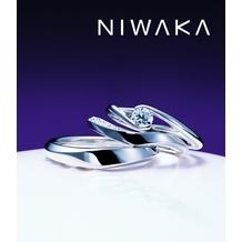 L Sakae(エルサカエ):俄(にわか) 結婚指輪【水鏡】~みずかがみ~