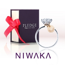 L Sakae(エルサカエ)_【NIWAKA】プロポーズ応援リング PLEDGE for WEDDING