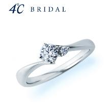 4℃ BRIDAL:【4℃ブライダル】アクアニティエンゲージリング