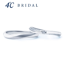 4℃ BRIDAL_【4℃ブライダル】4℃ピュアプラチナマリッジリング