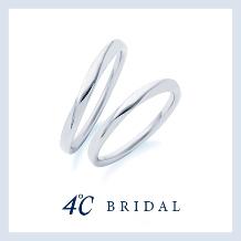 4℃ BRIDAL:【4℃ブライダル】どの角度から見ても美しいフォルム アクアニティコレクション