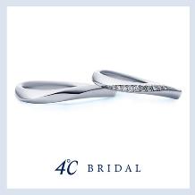 4℃ BRIDAL_【4℃ブライダル】Natural Grace|プラチナマリッジリング