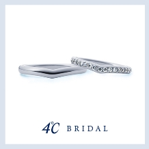 4℃ BRIDAL_【4℃ブライダル】プラチナマリッジリング
