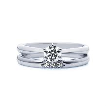 4℃ BRIDAL:【ピュアネス】時を経ても変わらない清らかな愛をストレートラインで表現した結婚指輪