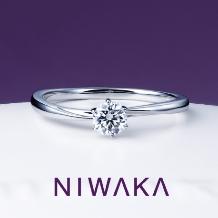 JUNO BRIDAL(ジュノ ブライダル)_【JUNO BRIDAL】NIWAKA 花雪(はなゆき)婚約指輪