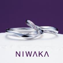 JUNO BRIDAL(ジュノ ブライダル)_【JUNO BRIDAL】NIWAKA 初桜(ういざくら) 結婚指輪