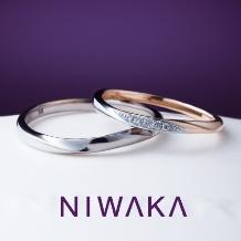 JUNO BRIDAL(ジュノ ブライダル)_【JUNO BRIDAL】NIWAKA 雪佳景(せっかけい)結婚指輪