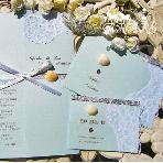 ARARS(アラース)●株式会社プチトリアノン:海の招待状・席次表・メニュー・プロフィールの冊子・席札