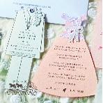 ARARS(アラース)●株式会社プチトリアノン:ドレス&タキシード個性的招待状★無料サンプルは【ARARS】検索