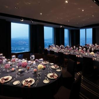 ウェスティンホテル仙台:地上180m ホテル最上階で叶える<天空のウエディング>