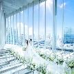 【初心者さん大歓迎◎】9月OPENの新会場と世界的建築家が手掛けたチャペル見学。特選牛&オマールも堪能できる人気フェア【さらに見学1件目カップルには】挙式料25万全額無料&『ブルガリ』コスメセット進呈