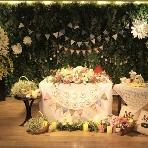 青山 Green grass Cafe:会場内の装飾もお望み通りに♪