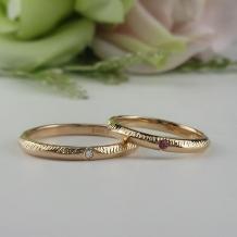 Lienjoux(リアンジュ)(旧アトリエヤマサン)_◆手作り結婚指輪◆アンティーク調Ring