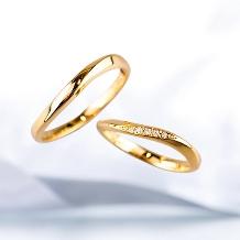 Lienjoux(リアンジュ)(旧アトリエヤマサン)_手作り指輪ーウェーブを活かしたデザインー