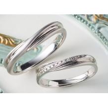 ジュエリースカラベ(GEMS.SCARABAEUS)_【パルフェ】ダイヤとプラチナのバランスが素敵