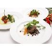 NaChura Resort Wedding(菜美ら):お披露目パーティーに対応可能なコース料理も用意★