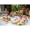 NaChura Resort Wedding(菜美ら):ウエルカムパーティーではリラックスして友人と会話も弾みます