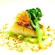 NaChura Resort Wedding(菜美ら):真鯛のポワレ 新鮮な鯛でフワッとしていて絶品!