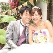 NaChura Resort Wedding(菜美ら):テラスで記念撮影