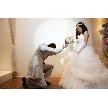 NaChura Resort Wedding(菜美ら):ブーケブートニアセレモニー♪ ゲストの前で改めてのプロポーズ