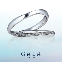 GALA JEWELRYの婚約指輪&結婚指輪
