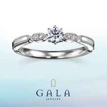 GALA JEWELRY_【GALA】ダイヤモンドの輝きを堪能できる!キュートデザイン**