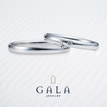 GALA JEWELRY_【GALA】マリッジリングといえばこちら!!永遠の定番シンプルデザイン☆